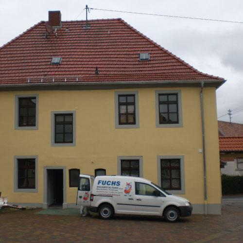 Fassadenanstrich